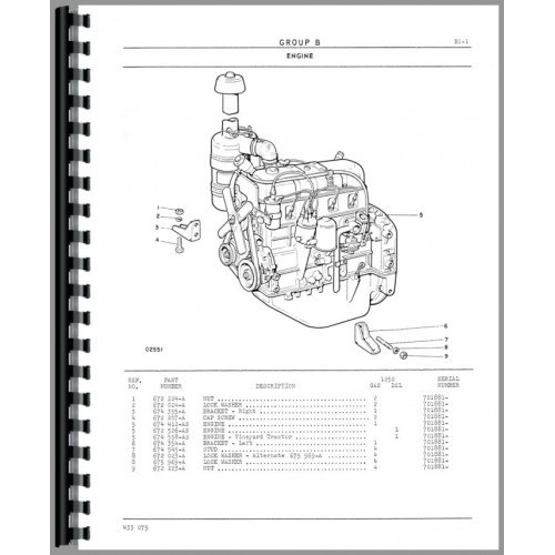 Cockshutt 1250 Tractor Manual_85717_3 500x500 fiat 360 long tractor wiring diagram tecumseh wiring diagrams long 2360 tractor wiring diagram at soozxer.org