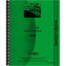 Cockshutt Tractor Operators Manual (OL-O-1600 GLPD)