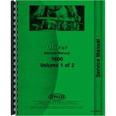 Cockshutt 1600 Tractor Service Manual