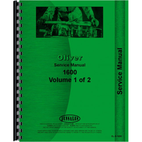 Oliver 1600 Tractor Service Manual Rh Jensales: Oliver 1650 Wiring Diagram Ignition At Executivepassage.co