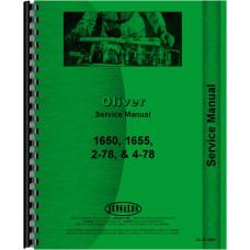Cockshutt 1655 Tractor Service Manual