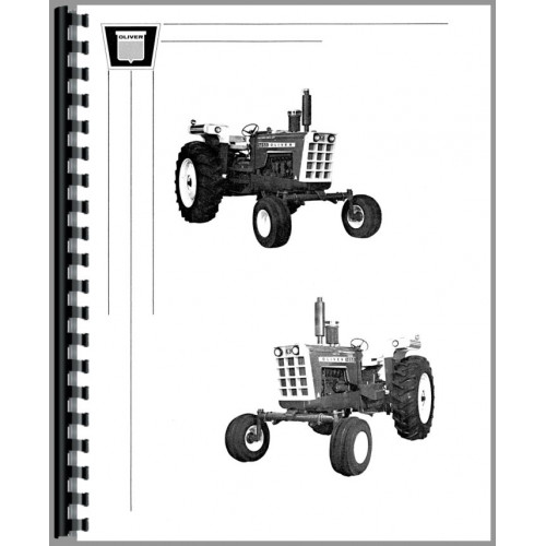 Oliver 1855 Tractor Operators Manual on