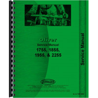 White 1755 Tractor Service Manual