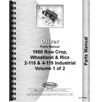 White 4-115 Tractor Parts Manual
