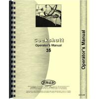 Cockshutt 35 Tractor Operators Manual