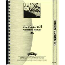 Image of Cockshutt 35 Tractor Operators Manual