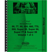 Oliver Super 55 Tractor Service Manual