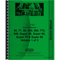 Oliver 2-44 Tractor Service Manual