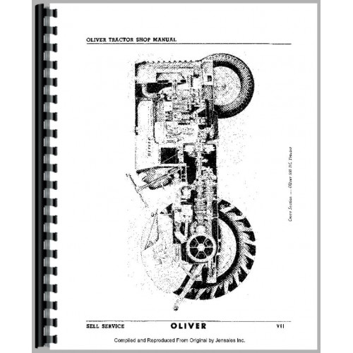 oliver super 88 tractor service manual