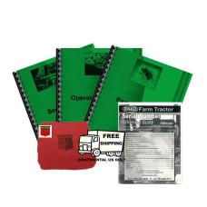Cockshutt 570 Deluxe Tractor Manual Kit