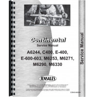 Image of Continental Engines M6330 Engine Service Manual