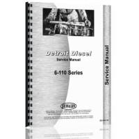 Euclid 21 TDT Tractor Detroit Diesel Engine Service Manual