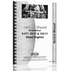 Detroit 6V-71, 8V-71, 12V-71 Engine Service Manual
