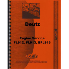Ditch Witch 4010 Trencher Deutz Engine Service Manual