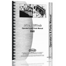Image of Ditch Witch R-40 Trencher Operators & Parts Manual (Chassis)