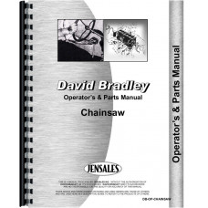 David Bradley 917-60003 Chainsaw Operators & Parts Manual (1950s)