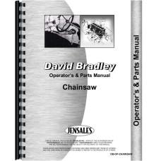 Image of David Bradley 917-60003 Chainsaw Operators & Parts Manual (1950s)