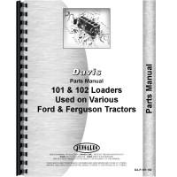 Ford NAA Davis 101 Loader Attachment Parts Manual