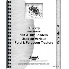 Ford 8N Davis 101 Loader Attachment Parts Manual