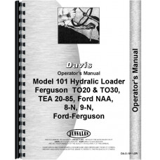Ford 8N Davis 101 Loader Attachment Operators Manual