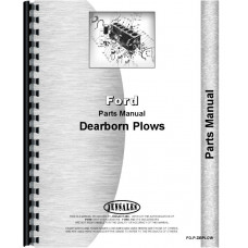 Dearborn 10-209 Plow Parts Manual