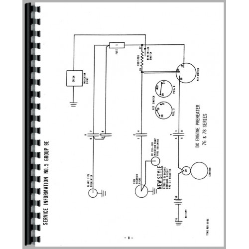 Zetor Tractor Manuals Free Wiring Diagrams - Wiring .