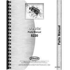 Deutz (Allis) 5220 Tractor Parts Manual