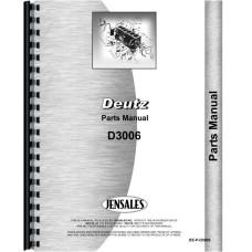 Deutz (Allis) D3006 Tractor Parts Manual (SN# 7487/8433 & up)