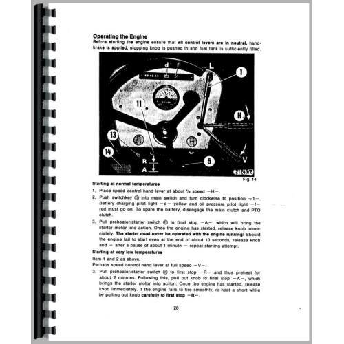 deutz allis d4006 tractor operators manual rh jensales com agco allis lawn tractor wiring diagram 6680 Allis Chalmers