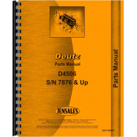 Deutz (Allis) D4506 Tractor Parts Manual (SN# 7876/1 and Up)