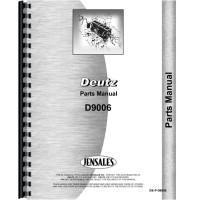 Deutz (Allis) D9006 Tractor Parts Manual (SN# 7923/1 and Up)