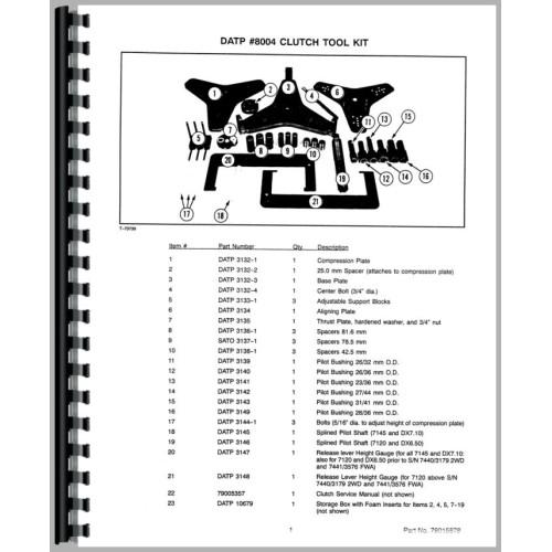 deutz allis d6807 tractor clutch service manual 1980 1982 clutch rh jensales com Deutz Diesel Engine Service Manuals Deutz D6206 Tractor Operators Manual