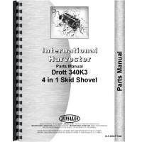 International Harvester T340 Crawler Drott Shovel Loader Attachment Parts Manual