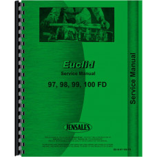Euclid 100 FD Rear Dump Truck Service Manual