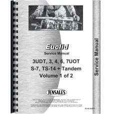 Euclid 7 UOT Tractor & Scraper Service Manual