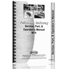 Fairmont M14 Railway Car Service Manual