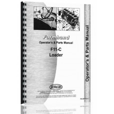 Image of Farmhand F11-C Loader Attachment   Operators & Parts Manual (SN# 26695 and up)