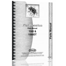 Image of Fiat 1580, 1580DT Tractor Parts Manual (Dsl)