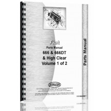 Hesston 666 Tractor Parts Manual