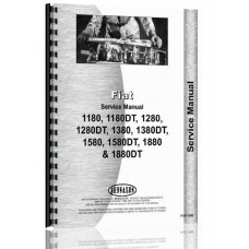 Fiat 1180, 1280, 1380, 1580, 1880 Tractor Service Manual (180, 1280)