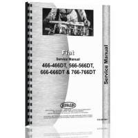 Hesston 766 Tractor Service Manual