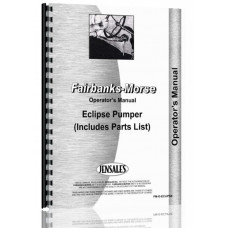 Fairbanks Morse Eclipse Pumper Operators Manual
