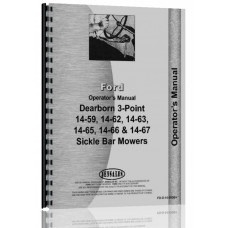 Ford 14-59 Dearborn Sickle Bar Mower Operators Manual