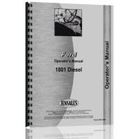 Ford 1801 Industrial Tractor Operators Manual (Diesel)