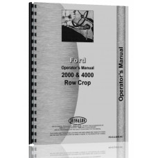 Ford 2000 Tractor Operators Manual (1962-1964) (4 Cyl Only)