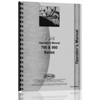 Ford 700 Tractor Operators Manual