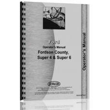 Ford FORDSON COUNTY Tractor Operators Manual
