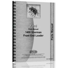 Ford 1400 Sherman 1400 Loader Parts Manual