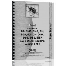 Ford 450 Industrial Tractor Parts Manual