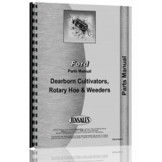 Dearborn 13-10 Rotory Hoe Parts Manual (Model 13-10 and 13-35)